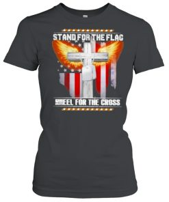 Stand for the flag kneel for the cross  Classic Women's T-shirt