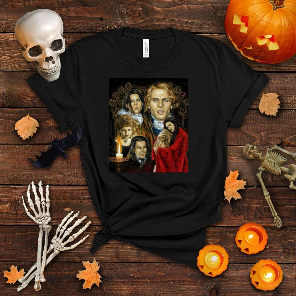 Interview With The Vampire Tribute Graphic Vampire Vintage T shirt