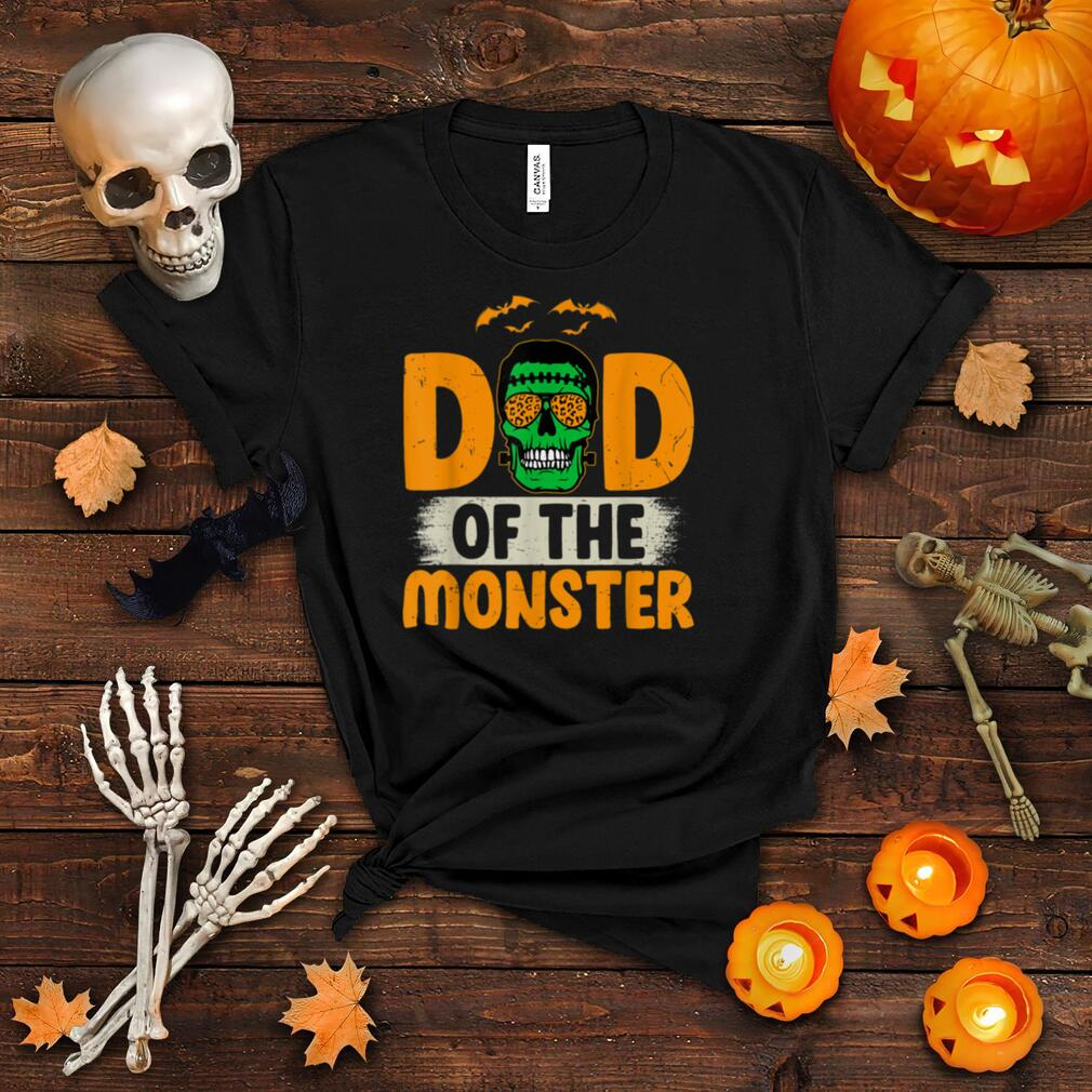 Mens Dad Of The Monsters Dada Monster For Halloween Party Costume T Shirt