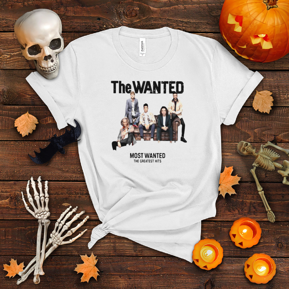 The Wanted Most Wanted The Greatest Hits T shirt